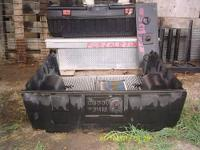Aluminum toolbox. Full size. Will be diamond plate -