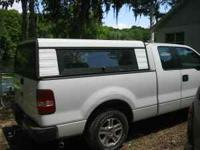 For sale Truck topper for full size pick up truck, good