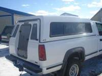 truck topper, white in good shape. selling cheap 175.00