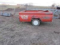I have a 3/4 ton pickup bed trailer for sale. Been