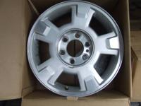 I have for sale a new set of 2012 Ford Wheels with lug
