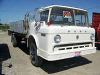 Ford gas truck cab over 70s truck and bed 16ft. with