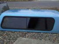 Raider fiberglass canopy for 94+ GMC Sonoma/Chevy S10.
