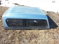 Short box truck cap in great condition. All windows