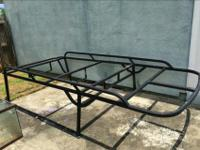 Hand welded aluminum rack by B&T marine, made to fit