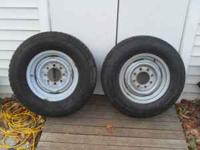GOODYEAR WRANGLER HT SIZE LT 245/75R16 AND A MICHELIN