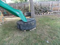 good condition tires THEY ARE SUPER SINGLE 22.5 only
