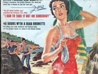 Sept 1958. A historical crime magazine full of actual