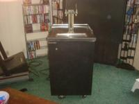 "This is a ""TRUE"" Kegerator that works great. It comes"