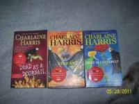 have 3 Sookie Stackhouse Novel books which True Blood