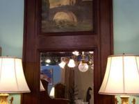 Trumeau Mirror $2325 Dealer #BBC Lost. . .Antiques 1201