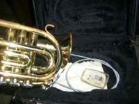 This is a Fredrick pocket trumpet, is about a year old,