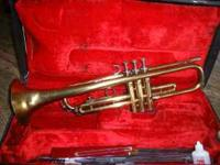 Martin imperial trumpet. good condition could use to be