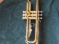 For sale is a Yamaha trumpet Model #YTR2320. It is