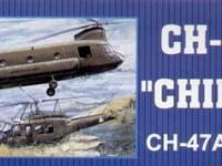 I'm selling this 1/35 scale model of a chinook at a
