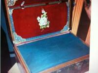 vintage trunk as seen on e-bay auction site for 699.00,