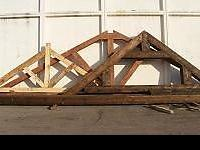 The most popular wood trusses we produce are the Queen