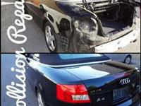 *TRUST A LICENSED BODY SHOP ***  QUALITY WORK AT AN