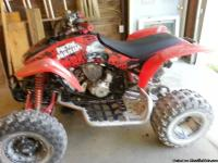 05 TRX400ex with new holeshoot tires and SS Rims, it