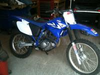 TTR 230 Yamaha  Dirt Bike  less than 200 miles like