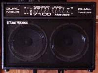 Tubeworks Duel Twelve guitar amp for sale, this is a
