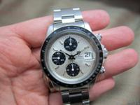Stunning and massive Tudor Oysterdate Chronograph with