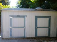 SEE UTUBE VIDEO called TUFF SHED DELUXE 4U 8' X