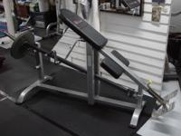 Commercial High quality, Incline/supported Bar Row, By