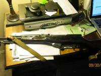 Russian SKS, marked 1953r with all matching numbers. It