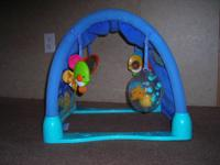 I have a Fisher Price Kick and Crawl Aquarium, a