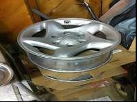 Factory Toyota Tundra, Tacoma, 4Runner rims with center