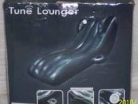 Tune Lounger inflatable lounge chair it has 2 built in
