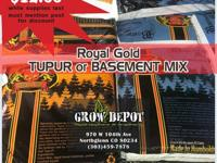 Holiday Sale on Tupur and Basement Mix at Grow Depot.