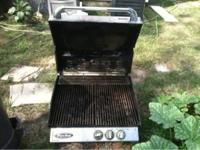 i have a stainless steel Gas grill (no lp) it was