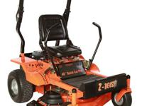 The 54 in. Turf Beast heavy duty commercial mower,