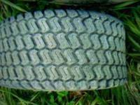 FOR SALE TWO 16X7.50 TURF TIRES, EXCELLENT SHAPE,