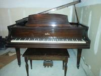 For sale 1920-1930's Everett Baby Grand Piano in