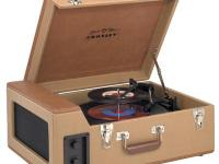 Crossley Stack-o-matic traveler turntable. Never used.