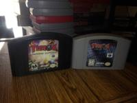 Turok: Rage Wars and Turok 2: Seeds of Evil for n64.