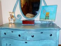 Antique dresser in princess style Refinished in