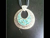 Description I have a Turquoise Sterling Silver Antique