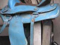 For Sale: Beautiful used Turqouise Western Saddle. I