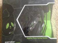 Amplified stereo gaming headset. This headset is