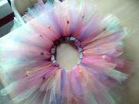 I have 5 tutu's that I have made for little girls. I