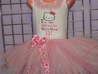 Custom stitched bloomer sets and tutu collections.