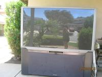 Hitachi TV Flatscreen with Large panel, 65SWX20B on