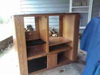 Very nice TV stand holds up to 36 inch TV two close