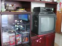 I am selling a TV cabinet ($20) and heater ($30). The