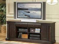 TV Console / Distressed Wood - $465 To View This Item