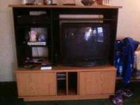 selling entertainment center only it measures 51.5